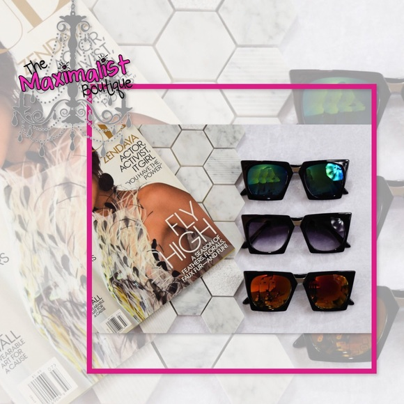 d5fc85ae433 Hip To Be Square Sunglasses 😎